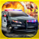 3D Police Run Drag Racing Simulator - A Real Cops Chase Driving Race logo